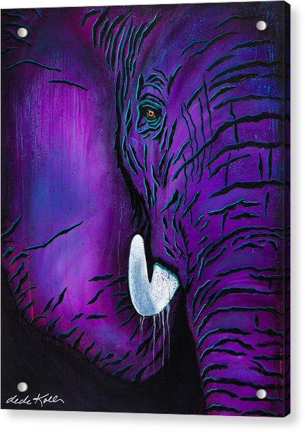 Big Bull Acrylic Print