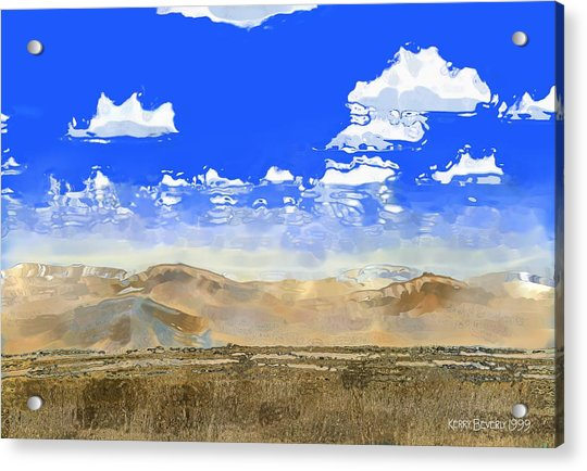 Big Country Acrylic Print