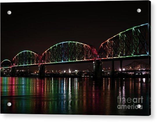 Big Four Bridge 2215 Acrylic Print