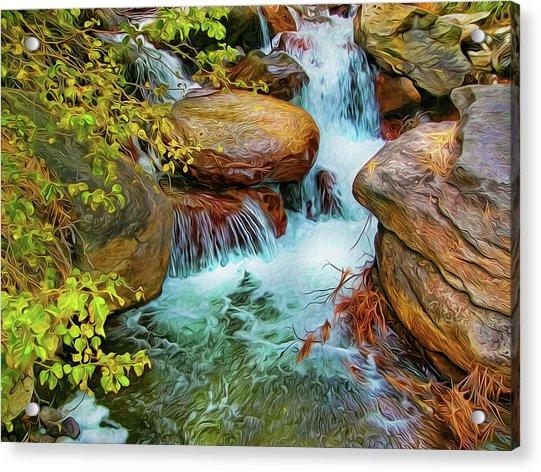 Big Pine Creek Acrylic Print