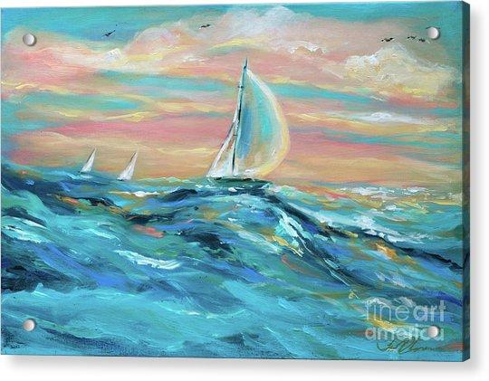 Big Swell Acrylic Print