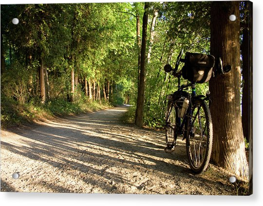Bike Rest Acrylic Print