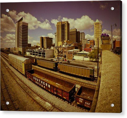Birmingham At Work Acrylic Print