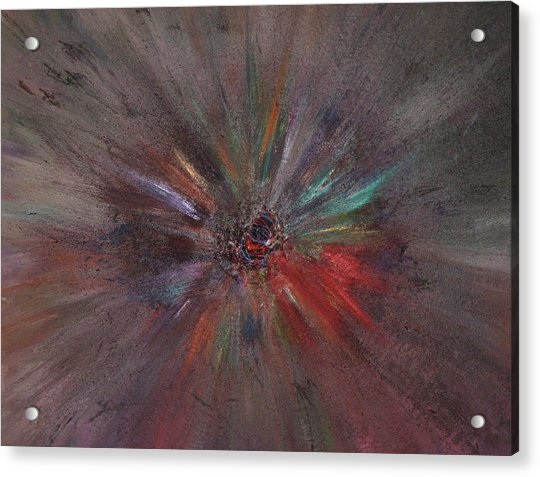 Acrylic Print featuring the painting Birth Of A Soul by Michael Lucarelli