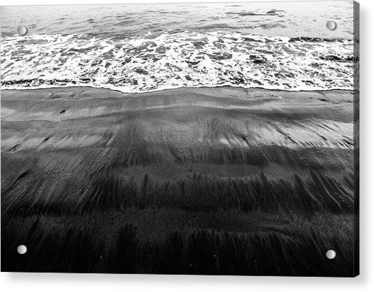 Black Sands  Acrylic Print