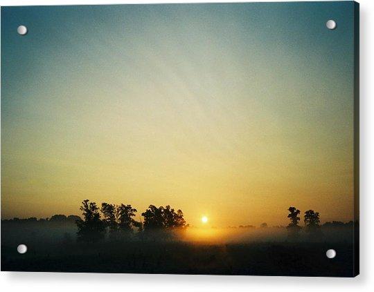 Blackford County Morning Acrylic Print by Gene Linder