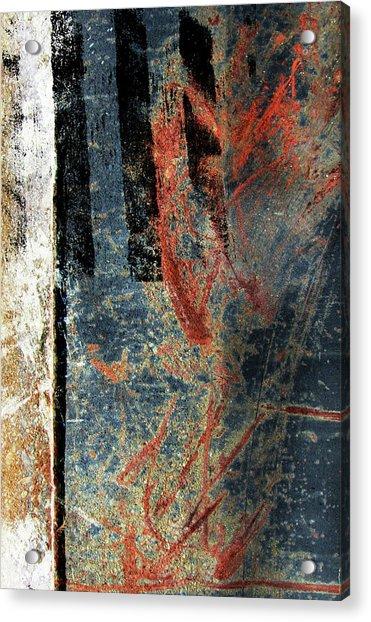 Blue Abstract #2 Acrylic Print