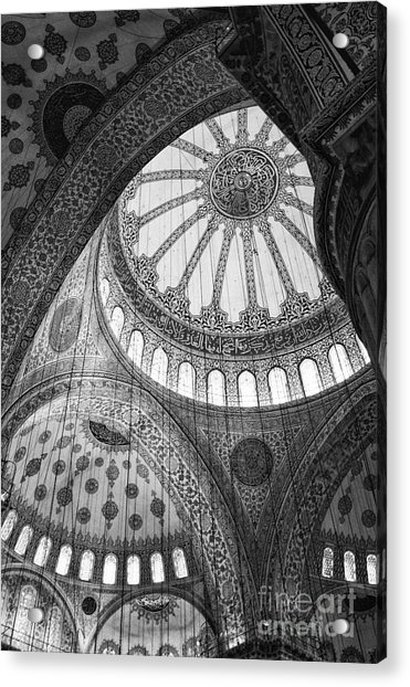 Blue Mosque Acrylic Print