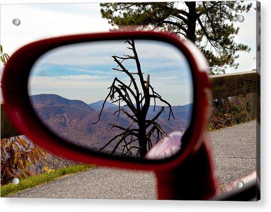 Blue Ridge Reflection Acrylic Print