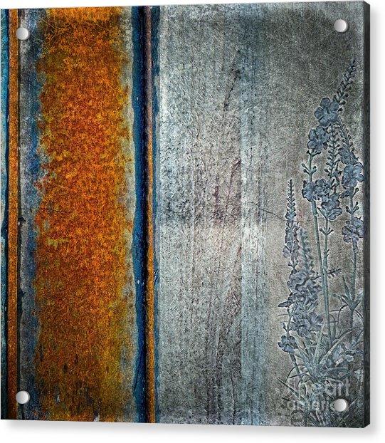 Blue Rust Acrylic Print