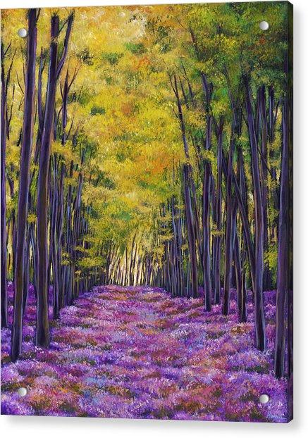 Bluebell Expanse Acrylic Print
