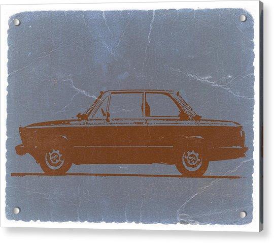 Bmw 2002 Orange Acrylic Print