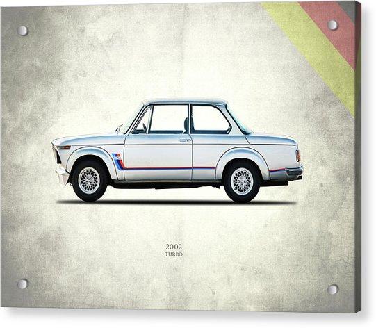 Bmw 2002 Turbo Acrylic Print