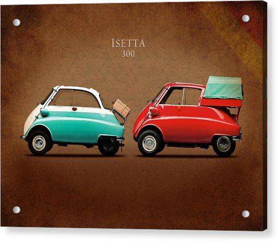 Bmw Isetta 300 Acrylic Print