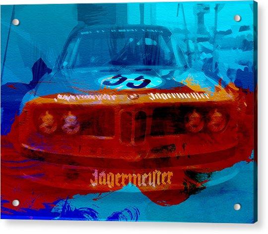Bmw Jagermeister Acrylic Print