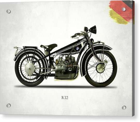 The R32 Motorcycle Acrylic Print