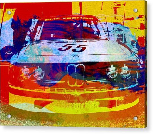 Bmw Racing Acrylic Print