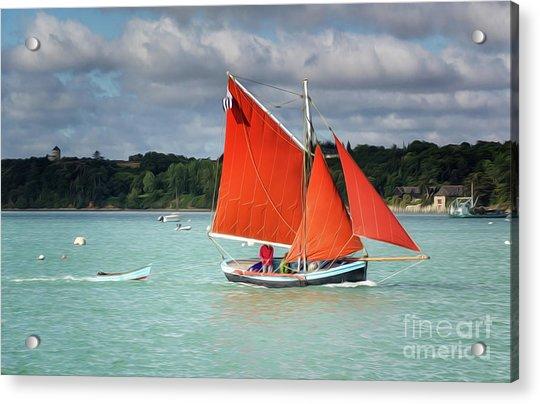 Boatshow 2 Acrylic Print