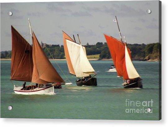 Boatshow 3 Acrylic Print