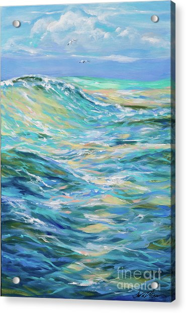 Bodysurfing North Acrylic Print