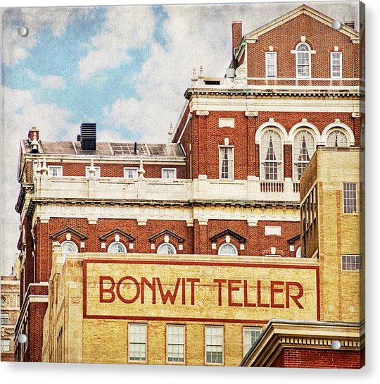 Acrylic Print featuring the photograph Bonwit Teller by Alice Gipson