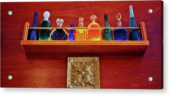 Acrylic Print featuring the photograph Bottle Styles by Cynthia Guinn