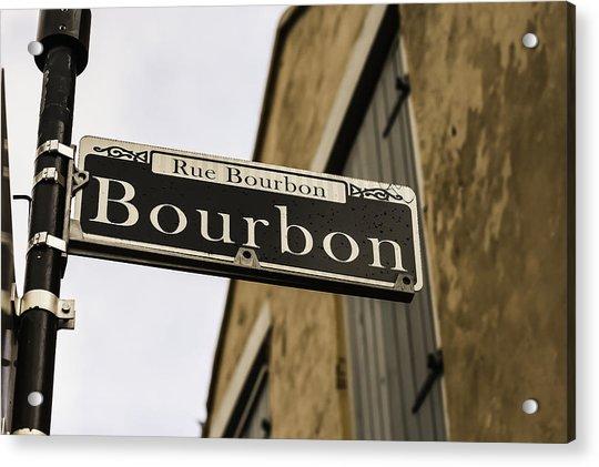 Bourbon Street, New Orleans, Louisiana Acrylic Print