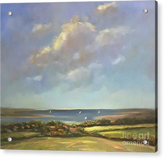 Brancaster Staithes, Norfolk Acrylic Print