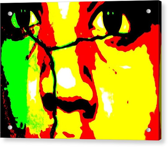 Break The Silence Acrylic Print by Fania Simon