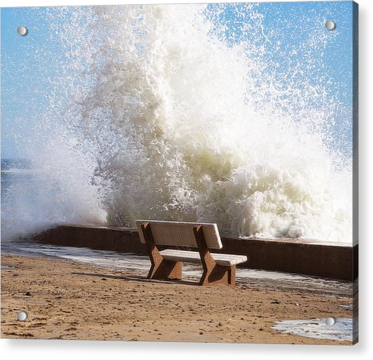 Breaking Wave Acrylic Print