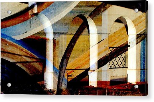 Bridge Arch Abstract #1 Acrylic Print