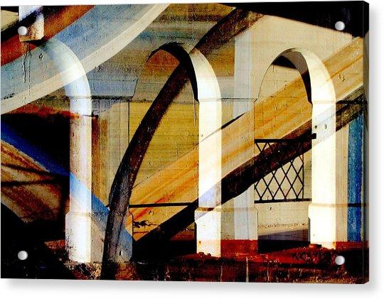 Bridge Arch Abstract #3 Acrylic Print