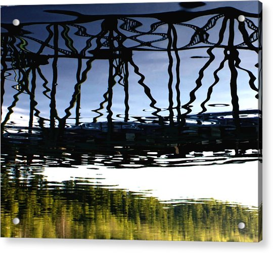 Bridge Over The Delaware Acrylic Print