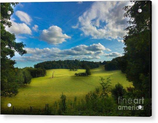 British Countryside Acrylic Print