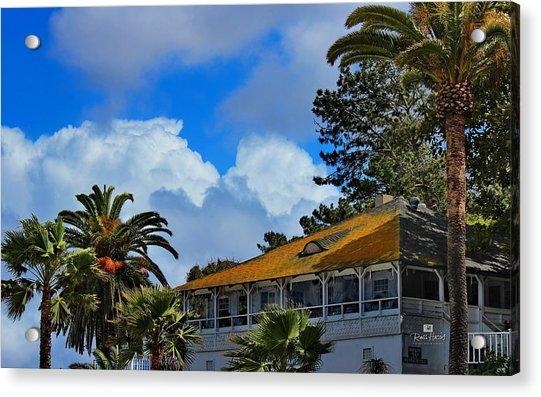 Brockton Villa La Jolla Acrylic Print