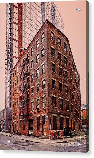 Brooklyn Apartments Acrylic Print