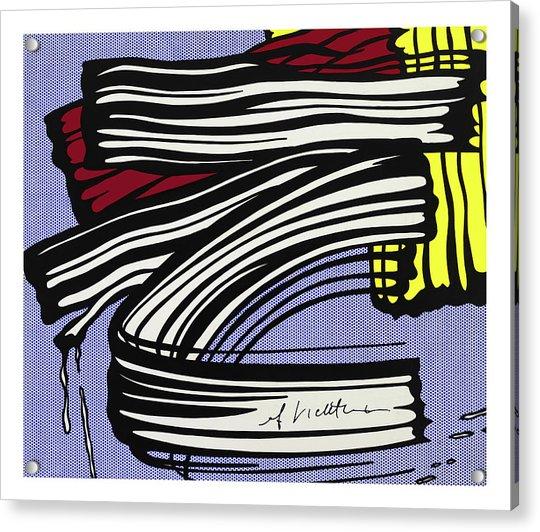 Brushstroke -1965 Acrylic Print