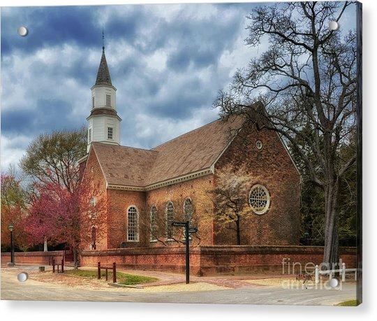 Bruton Parish Church Acrylic Print