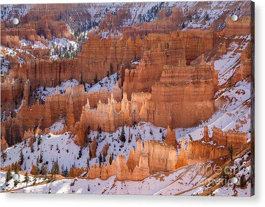 Bryce Canyon Hoodoos Acrylic Print by Julia Hiebaum