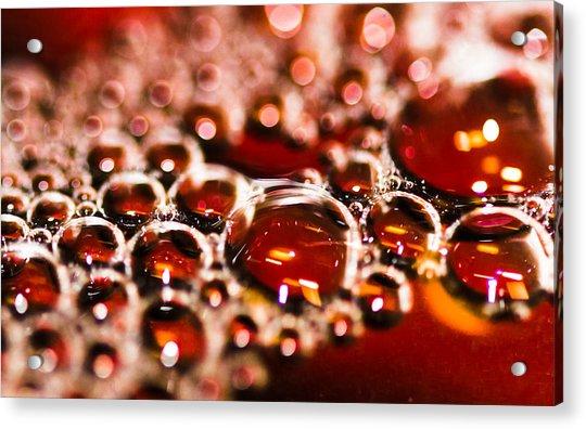 Bubbles Acrylic Print