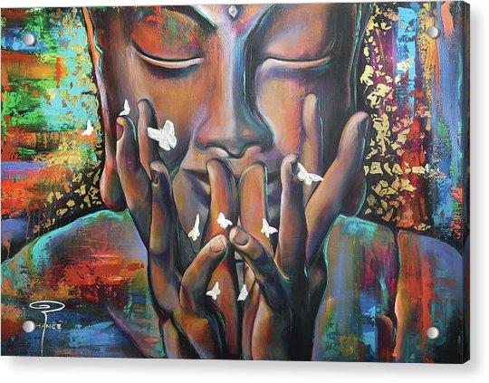 Buddhaflies Acrylic Print