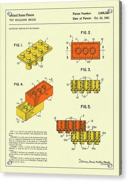 Building Bricks 1961 Acrylic Print