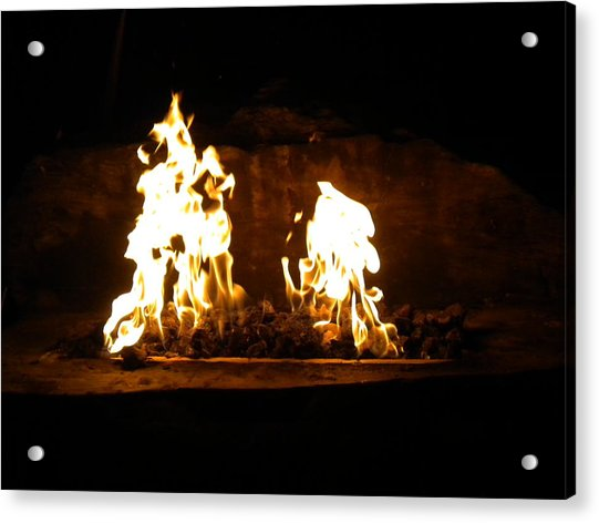Cabana Fire  Acrylic Print