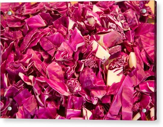 Cabbage 639 Acrylic Print