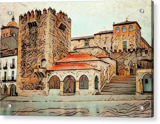 Caceres Spain Artistic Acrylic Print