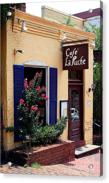 Cafe Laruche Acrylic Print
