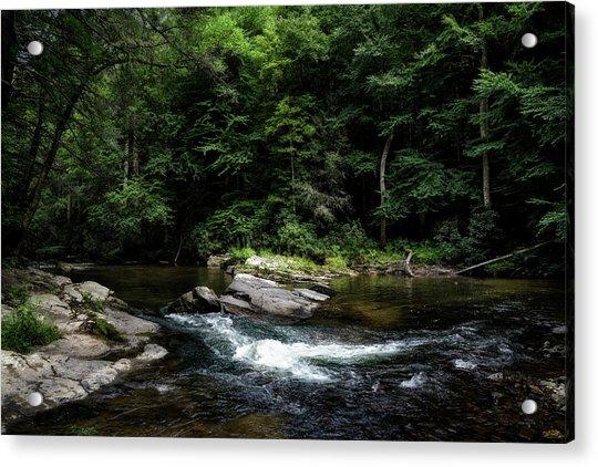 Calming Rapids Acrylic Print