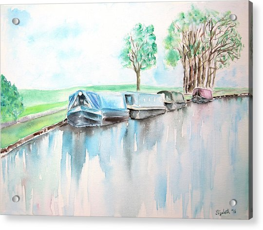 Canal Journey Acrylic Print