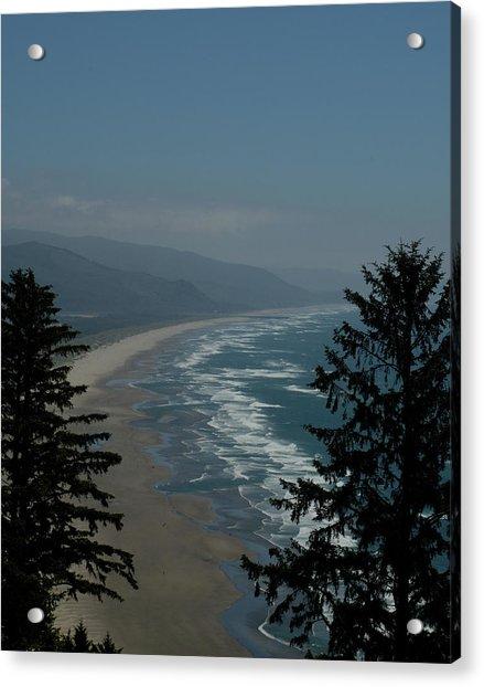 Cannon Beach Vista Acrylic Print