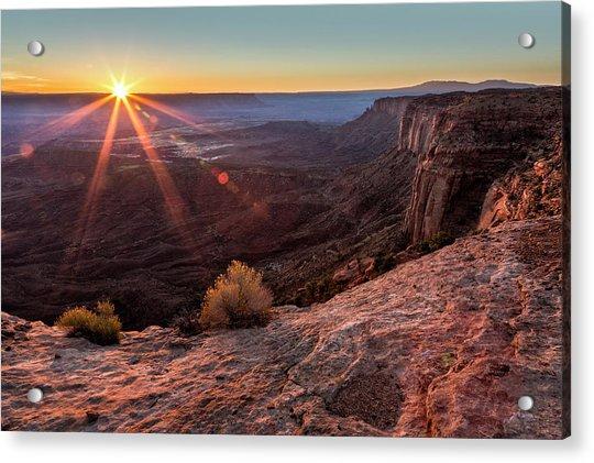 Canyon Country Sunrise Acrylic Print